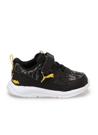 Puma Fun Racer Archeo Ac Erkek Çocuk Koşu Ayakkabısı Siyah